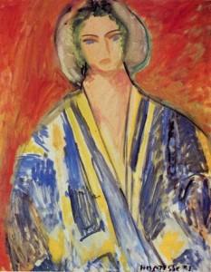 gandoura bleue