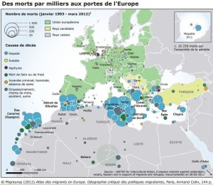 carte migrants